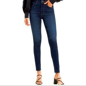 Levi's Mile High Super Skinny Jeans Echo Darkness